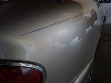 Paintless dent repair buick after